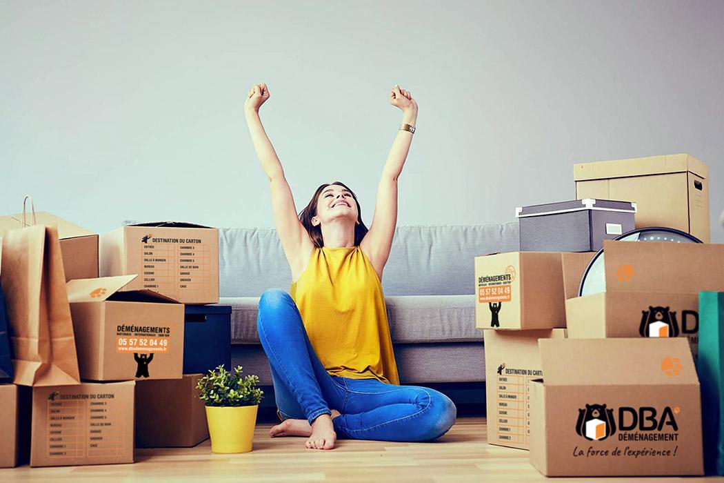 DBA Déménagements : votre déménageur local, national et international installé sur le Bassin d'Arcachon